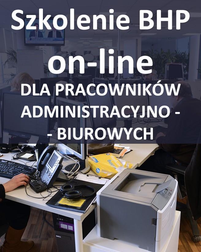 Szkolenie BHP online dla pracowników biurowych